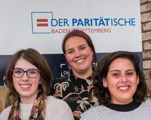 Der Plan W und CoWomen Miterarbeiterinnen bei dem Nachschicht Mannheim