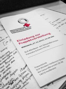 """Bei der Projektvorstellung """"Medizinische Soforthilfe nach Vergewaltigung"""" wurde der aktuelle Stand der Versorgung in Baden-Württemberg und in Heilbronn besprochen. Des Weiteren haben Ärzt*innen und Mitarbeiter*innen ei der SLK Klinkum am Gesundbrunnen schon Verbesserungsvorschläge für das forensische Gutachten bekommen."""