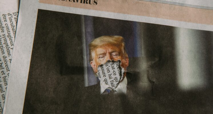 Trump hat Corona - politische kommunikation rund um Krankheit